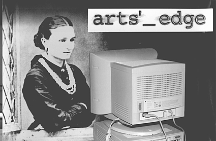 Dame Edith Cowan, Australia's first female Parliamentarian, checks out Arts_Edge