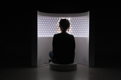 Ivana Franke, Seeing with Eyes Closed, (2013); Beam In Thine Own Eye - Dark Mofo 2013 - Museum of Old and New Art