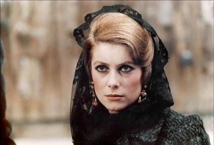 Catherine Deneuve in Luis Bunuel's Tristana (1970)