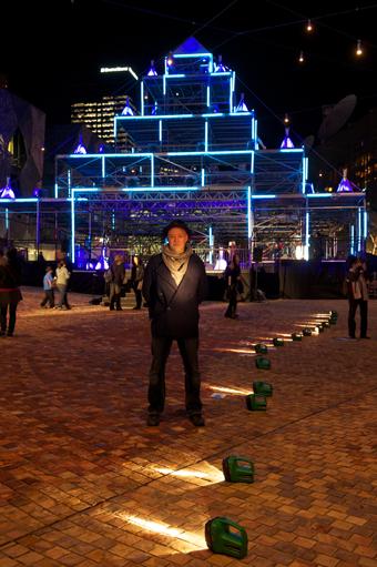Bruce Ramus, Light Hearts, Light in Winter Festival, 2011