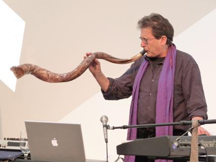 Alvin Curran, Shofar III concert with William Winant, Contemporary Jewish Museum, San Francisco, 2009