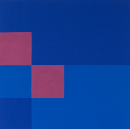 Four From Shaping Space (2,2), 2012, Acrylic and digital print on canvas