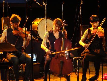 Kyle Sanna,  Michaela Davies, Lea Simpson, Compositions For Involuntary Strings