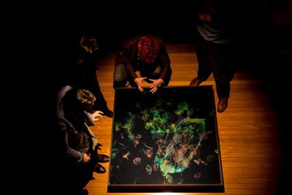 Paula Dawson, Hyperobject, My Homeland, 2013 installation, Holoshop exhibition