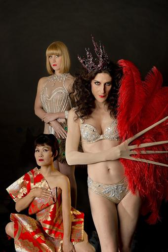 (l-r) Yumi Umiumare, Holly Durant, Moira Finucane, Glory Bok…Paradise