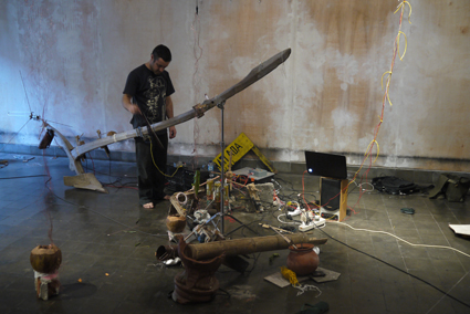 Dylan Martorell, Instrument Builder's Project, Yogyakarta