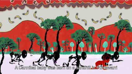 Yunkurra Billy Atkins & Sohan Ariel Hayes, Cannibal Story