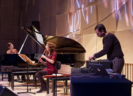 Three Lanes, Andrea Keller, Genevieve Lacey, Joe Talia, Capital Jazz Project