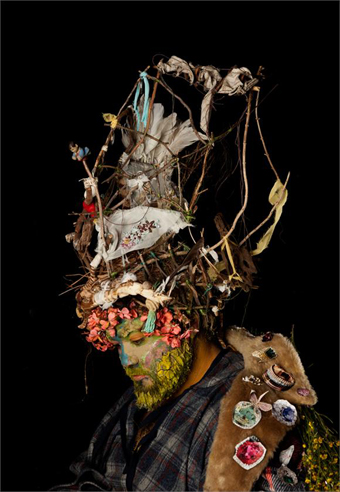 Shan Turner-Carroll, Shan, from the series Primal Crown, 2012, HATCHED National Graduate Show, 2013, PICA