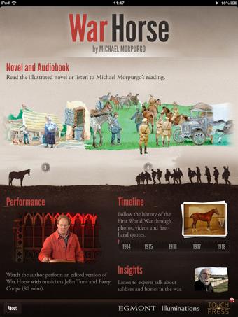 Michael Morpurgo's War Horse App