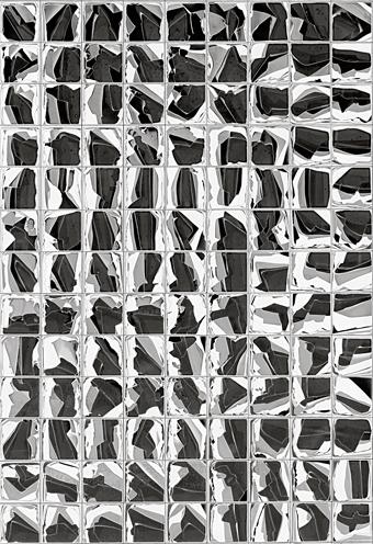 Matt Higgins, Master of Philosophy candidate, Photography and Media Arts, ANU School of Art, Untitled, chemigram, 2013, detail