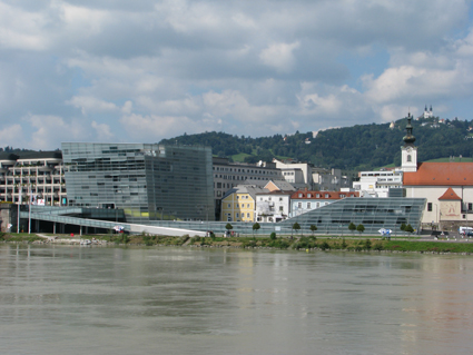 Ars Electronica Centre on the Danube, Linz
