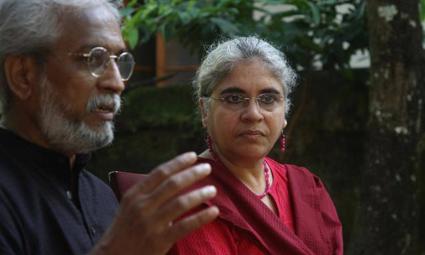 KP Jayasankar and Anjali Monteiro