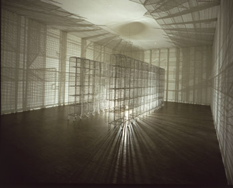 Mona Hatoum, Light Sentence (1992) Courtesy Jay Jopling/White Cube (London)
