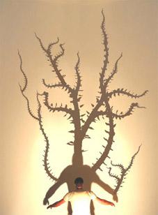 Mark Cypher, Biophilia (2004), interactive semi-immersive environment, courtesy of the artist