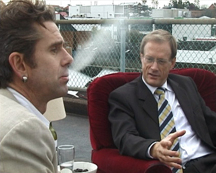 Gerald Keaney, David Hinchcliffe (Deputy Lord Mayor of Brisbane), Keaneysville