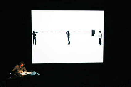 Rabih Mroué, The Pixelated Revolution