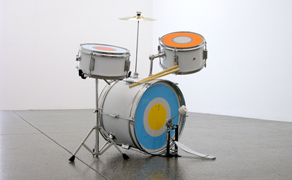 Reinventing the Wheel: The Readymade Century - Julian Dashper, 'Untitled (The warriors)' 1998