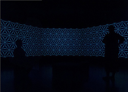 Karen Casey, Dream Zone, 2012, Generative video installation, National New Media Art Award, Queensland Art Gallery/Gallery of Modern Art, Brisbane. 2012