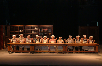 Nalaga'at Blind-Deaf Theatre Ensemble, Not By Bread Alone. courtesy the company