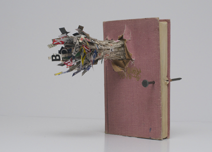 Aslan Gaisumov (Russia, 1991) (exploding book), In Memory of A. P., 2010, From the series 'Untitled (War)'
