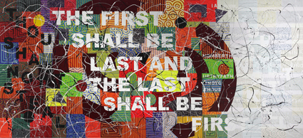 Richard Bell (Australia, 1953), One Day You'll All Be Gone (Bell's Theorem), 2011