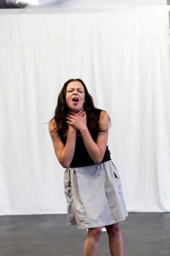 Natalie Rose, post, rehearsals for Oedipus Schmoedipus
