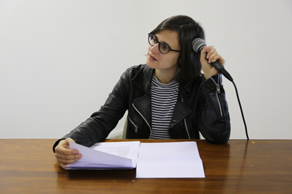 Sarah Rodigari, Filibuster of Dreams, presented at Arts House, part of the Festival of Live Art (FOLA), 13-30 March