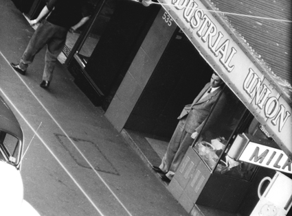ASIO surveillance photo, Frank Hardy, George St Sydney