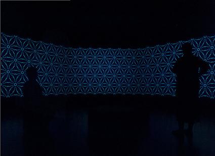 Karen Casey, Dream Zone, 2012, Generative video installation, National New Media Art Award, Queensland Art Gallery/Gallery of Modern Art, Brisbane. 2012