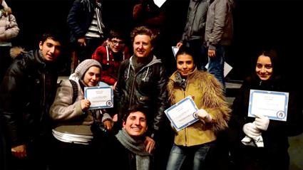 Chris Howlett and ARGARMENIA  participants