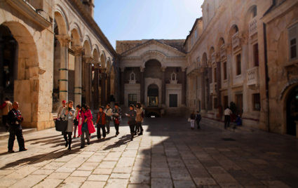 Peristil, Diocletian Palace, 2014