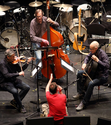 Mark Feldman (violin), Greg Cohen (bass), John Zorn, Erik Friedlander (cello), Zorn In Oz, Masada Marathon