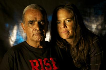 Gary Foley, Darlene Johnson, courtesy Sydney Film Festival