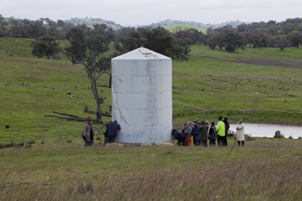 David Burraston, Grain Silo Meditation Tones, Wired Open Day and (G)local Frequencies Project