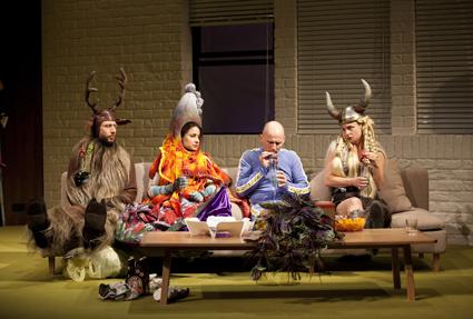 Tim Walter, Andrea Demetriades, Glenn Hazeldine, Rebecca Massey,  Perplex, Sydney Theatre Company