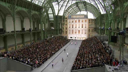 Chanel Spring Runway Show set, 2009