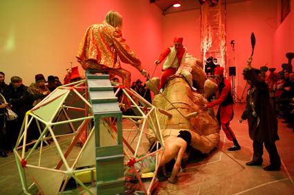 Marvin Gaye Chetwynd, The Snail Race, Galleria Massimo De Carlo, Milan, 06 March 2008