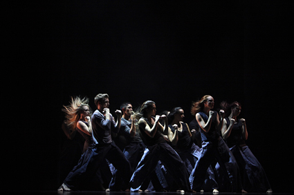 Twelve Ascensions, 2013, featuring Dance students from Creative Industries Faculty, QUT