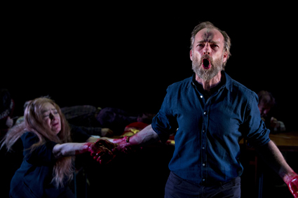 Melita Jurisic, Hugo Weaving, Macbeth, Sydney Theatre Company