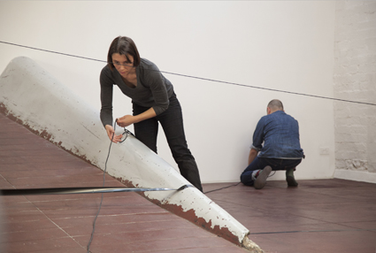 Helen Grogan, Geoff Robinson, Three Performative Structures for Slopes (27/4/2014)