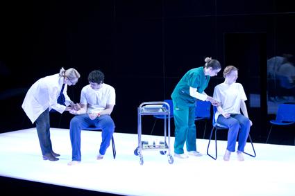 Angie Milliken, Mark Leonard Winter, Amy Burkett, Anna McGahan The Effect, STC/QTC co-production