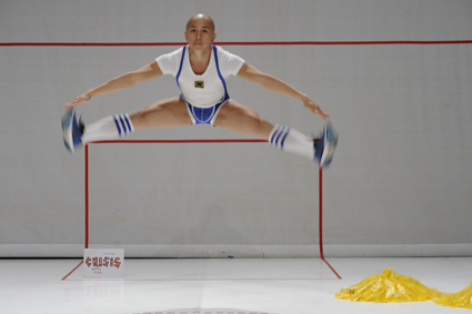 Daniel Kok, Cheerleader of Europe