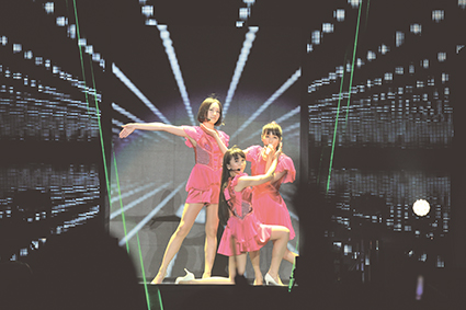 Perfume, Love Japan Night, National Stadium Tokyo, 29 May, TB broadcast 10 Aug