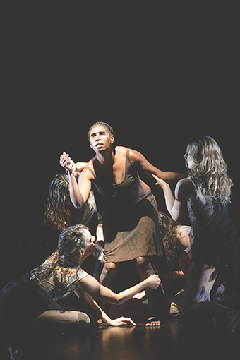 Mathinna, Elma Kris and the Women's Ensemble, Bangarra Dance Theatre