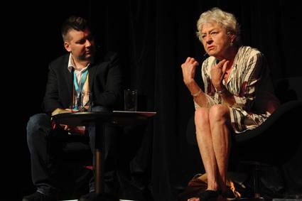 David Williams, Frie Leysen, Australian Theatre Forum 2015