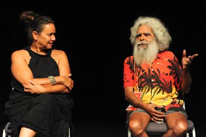 Rhoda Roberts, Jack Charles, Australian Theatre Forum 2015