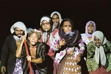 SAWUNG GALING kembalinya Legenda (BLACK ROOSTER the legend returns), Bandung, Indonesia Tagor Siagian