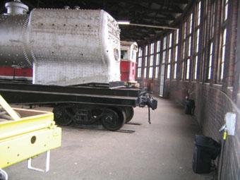 Michael Graeve & Scott Howie, sound installation, Junee Railway Roundhouse