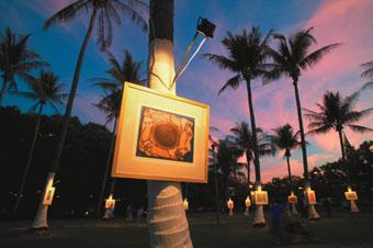 Galuku Gallery, Darwin Festival photo: monsoonaustralia.com (www.monsoonaustralia.com)